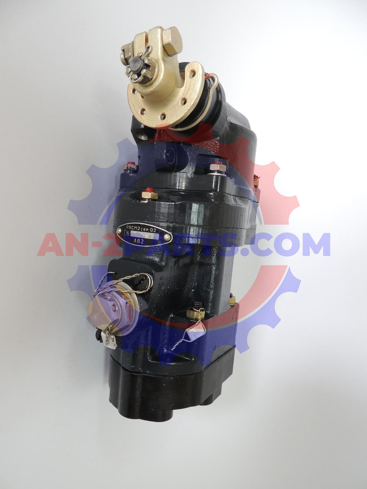 Regulator prędkości obrotowej R-9SM2 lub regulator prędkości obrotowej RW-101/M/, Speed governor R-9SM2 or Speed governor RW-101/M/