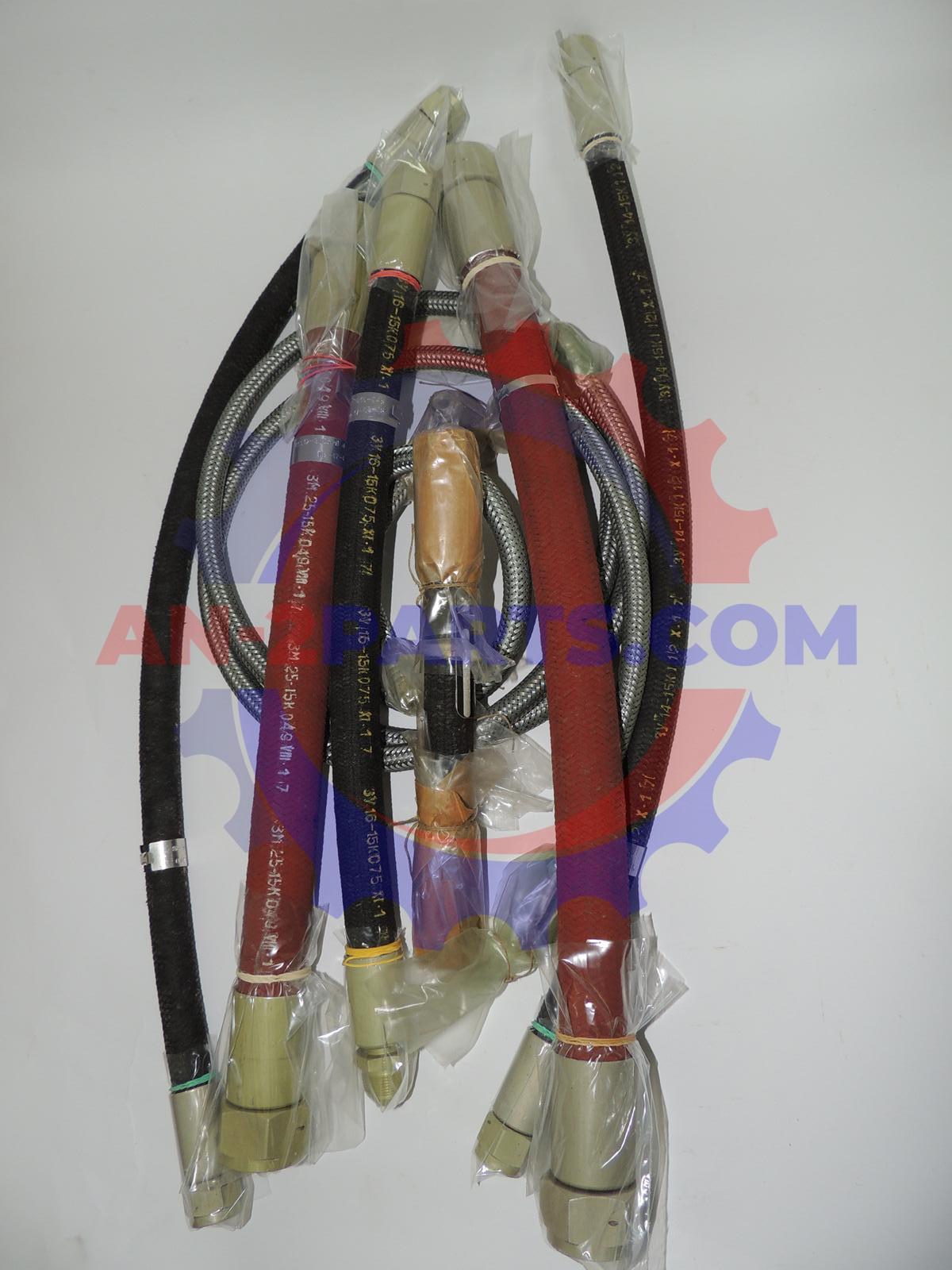 Zestaw elastycznych przewodów, Flexible hoses set