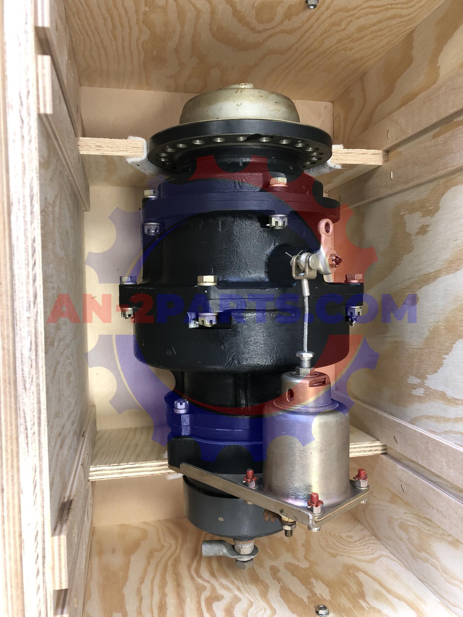 Rozrusznik elektryczno- bezwładnościowy RIM-U-24IR, Electric inertia starter RIM-U-24IR